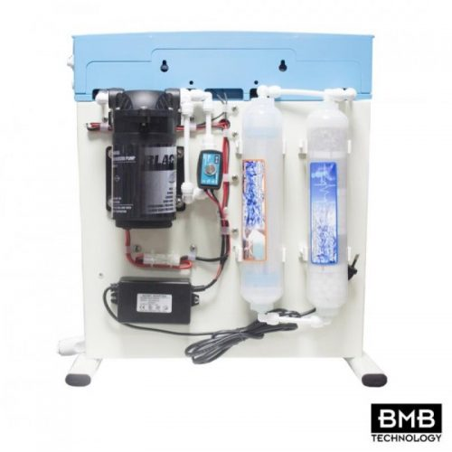 BMB-20 MONSTER +Alkaline +Detox Pumped Quick Change 6 Stage Reverse Osmosis System