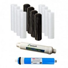 Ecosoft Reverse Osmosis 2 Years Bundle Pack