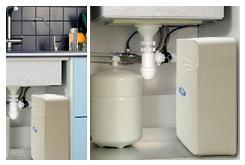 Hommix M800 Non-Pumped 6 stage RO Under Sink Drinking Water Filter System with Alkaline PH