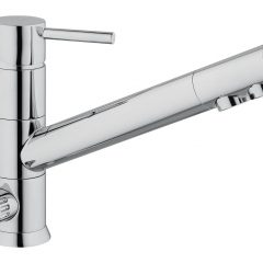 HOMMIX Leena 3-Way Tap (Tri-Flow) Long Reach Classic Faucet