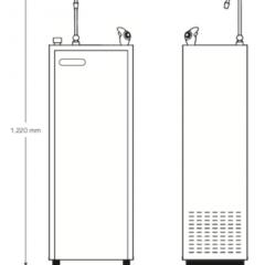 HOMMIX Blue River Cold Water Dispenser