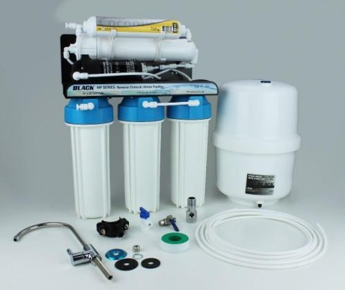 BMB HP-105 LX - High Pressure 5-Filter Luxury Under Sink RO Water Filter System