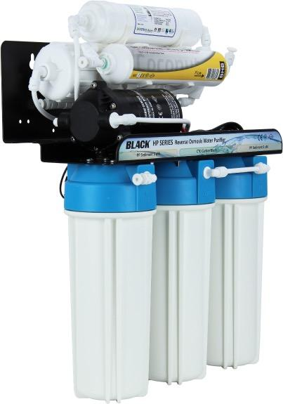 BMB HP-106 LX PRO - Professional High Pressure 5-Filter Luxury Under Sink RO Water Filter System