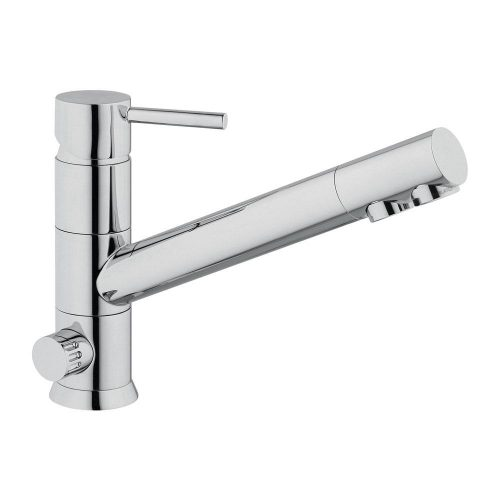Hommix Toscana Chrome 3-Way Tap (Triflow Tap) Classic Three Way Tap