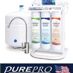 Pure-Pro EZ-105 5-Stage RO Drinking Water Filter System